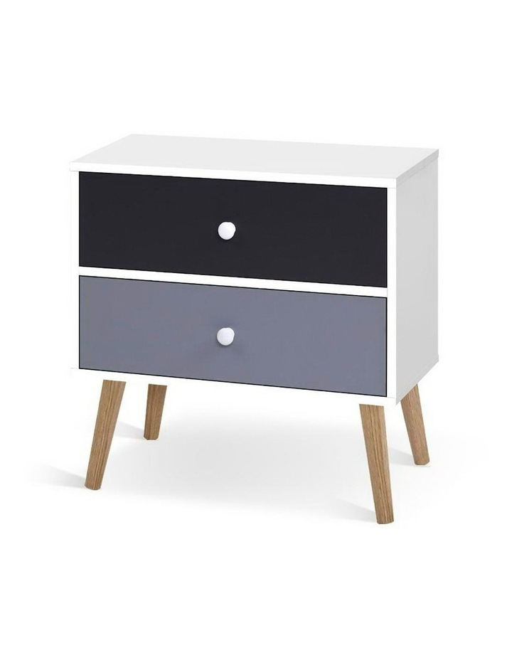 Bedside Tables Drawers Side Table Nightstand Lamp Side Storage Cabinet image 1