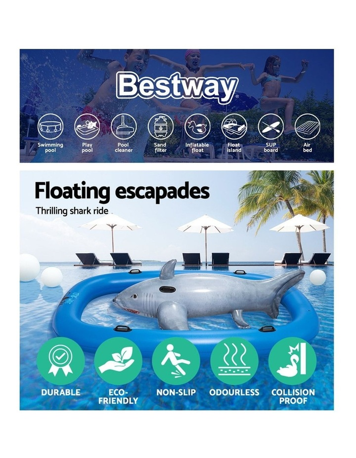 3.1m Inflatable Pool Floating Raft image 4