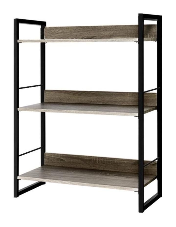 Bookshelf Display Shelves Wooden Book Shelf Wall Corner Bookcase Storage image 1