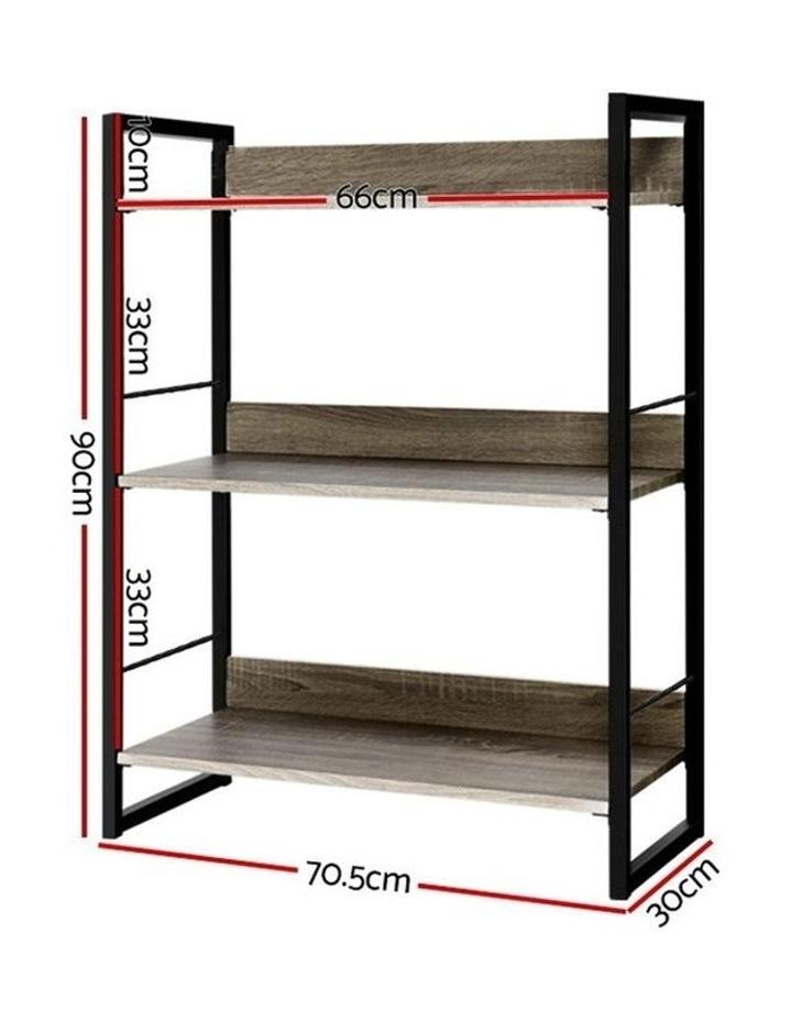 Bookshelf Display Shelves Wooden Book Shelf Wall Corner Bookcase Storage image 2