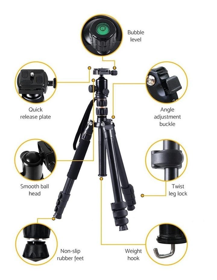 Professional Camera Tripod Monopod Stand DSLR Ball Head Mount image 3
