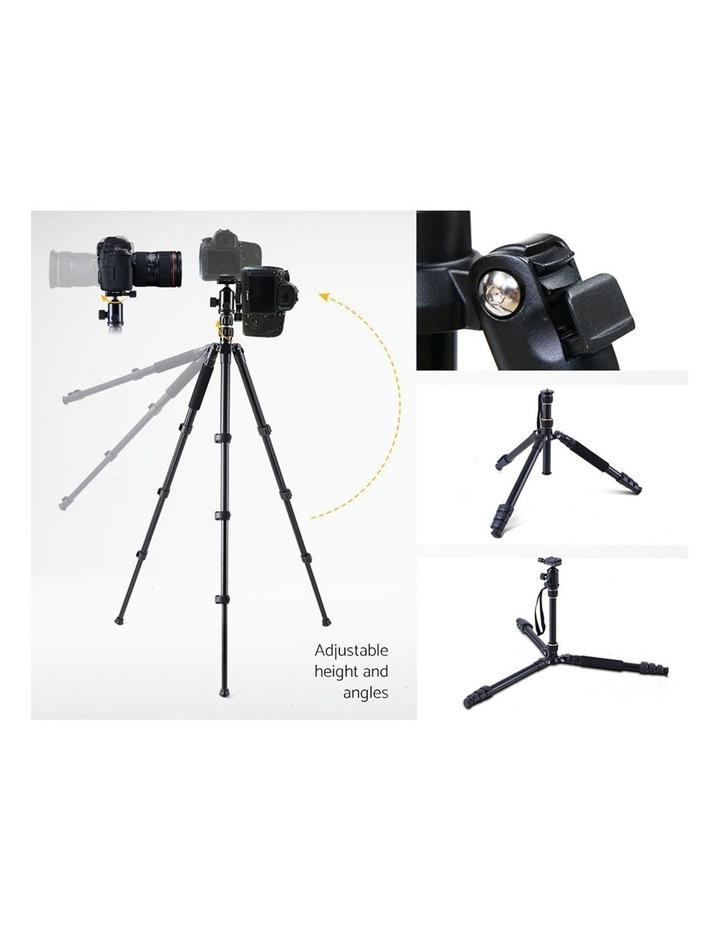 Professional Camera Tripod Monopod Stand DSLR Ball Head Mount image 4