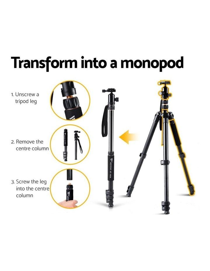 Professional Camera Tripod Monopod Stand DSLR Ball Head Mount image 6