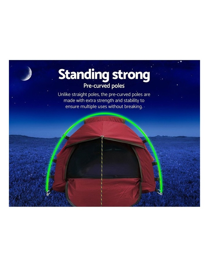 Biker Swag Camping Tent Single image 3