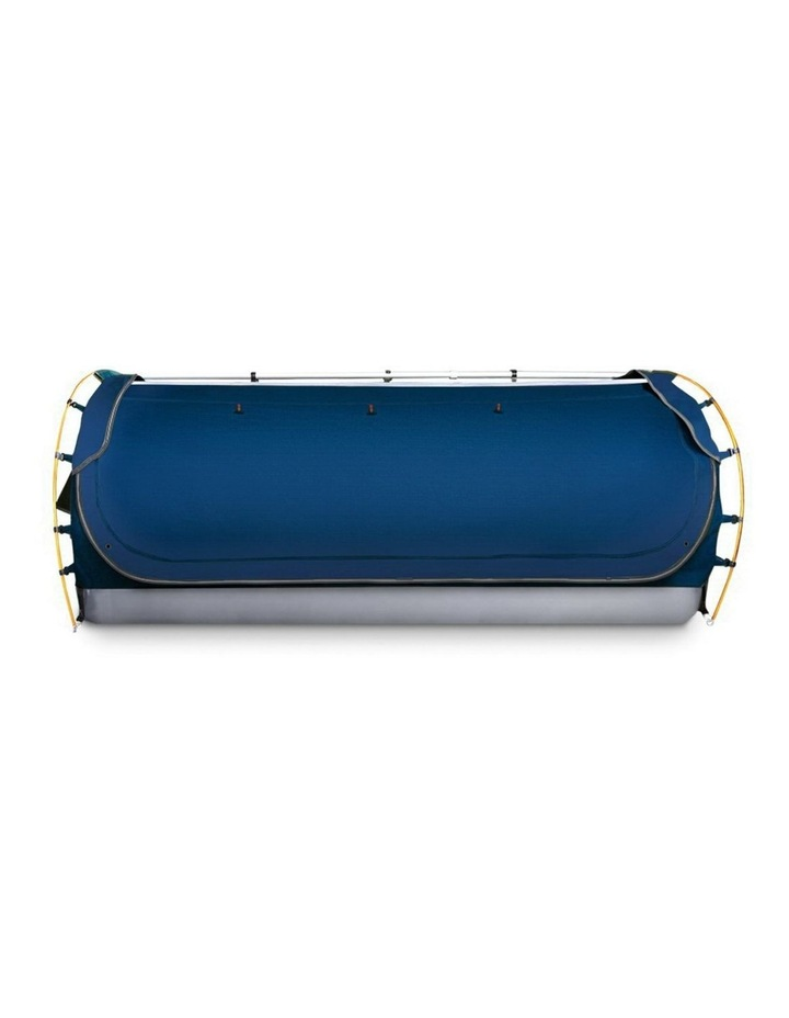 Double Swag Camping Tent Dark Blue image 3