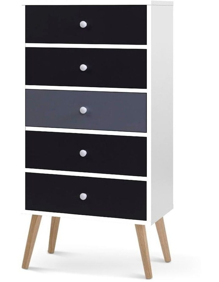 Artiss 5 Chest of Drawers Dresser Table image 1