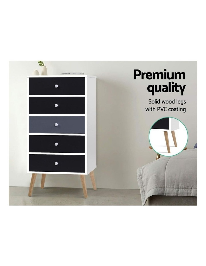 Artiss 5 Chest of Drawers Dresser Table image 6