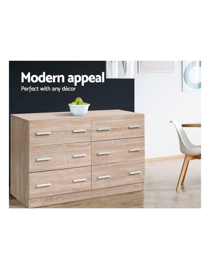 6 Chest of Drawers Cabinet Dresser Table Tallboy Lowboy Storage Wood image 4