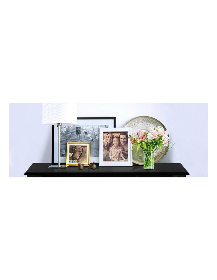 Hallway Console Table Hall Side Dressing Entry Display 3 Drawers Black image 6