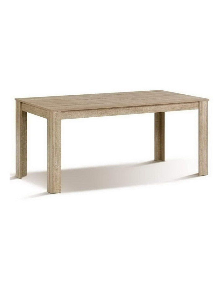 Dining Table 6 Seater Wooden Kitchen Tables Oak 160cm Cafe Restaurant image 1