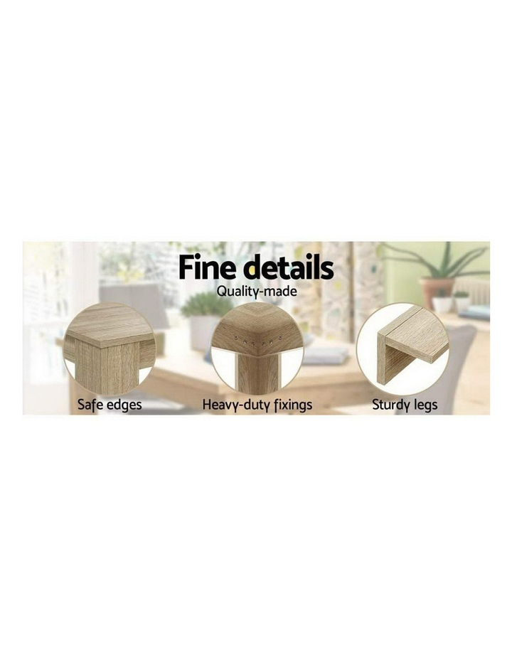 Dining Table 6 Seater Wooden Kitchen Tables Oak 160cm Cafe Restaurant image 6