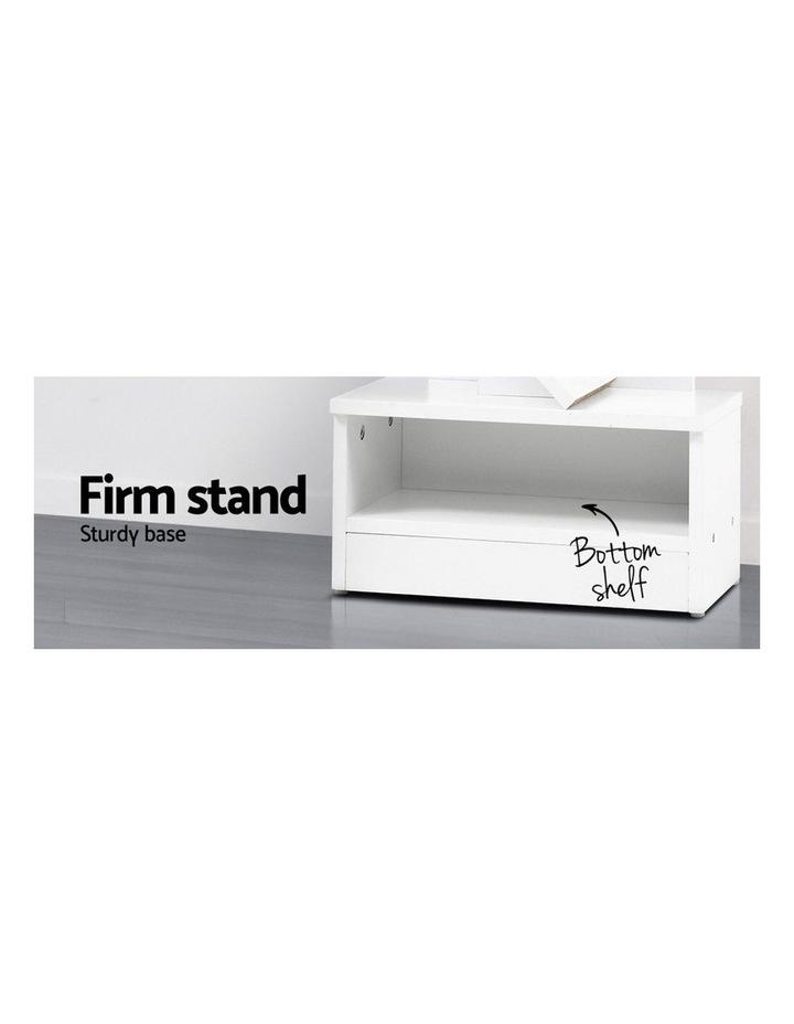 Display Shelf 7-Shelf Tree Bookshelf Book Storage Rack Bookcase White image 6