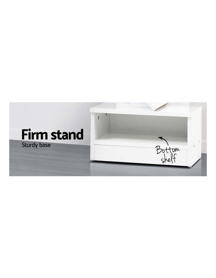 Display Shelf 9-Shelf Tree Bookshelf Book Storage Rack Bookcase White image 5