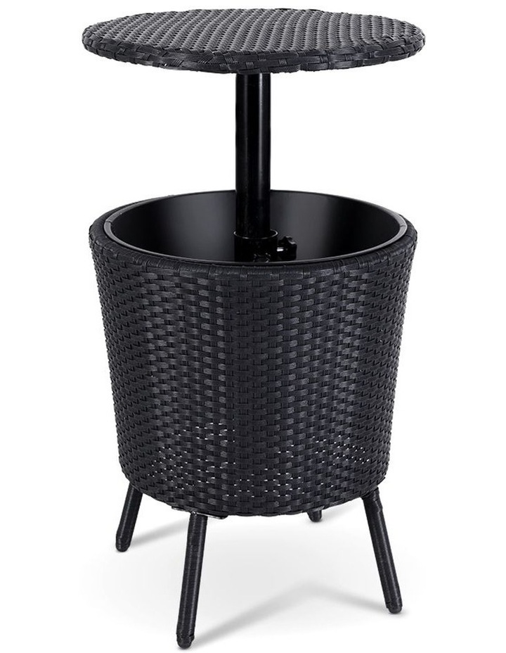 Bar Table Outdoor Setting Cooler Ice Bucket Storage Box Coffee Side Tables Party Pool Patio image 1