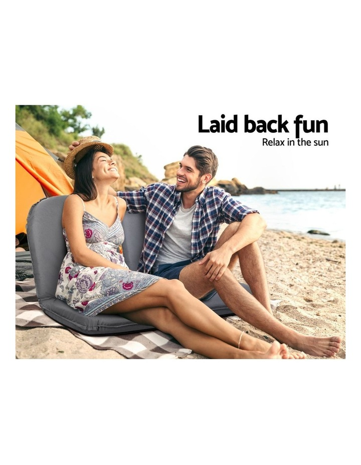 Floor Lounge Sofa Camping Portable Recliner Beach Chair Folding Outdoor image 4