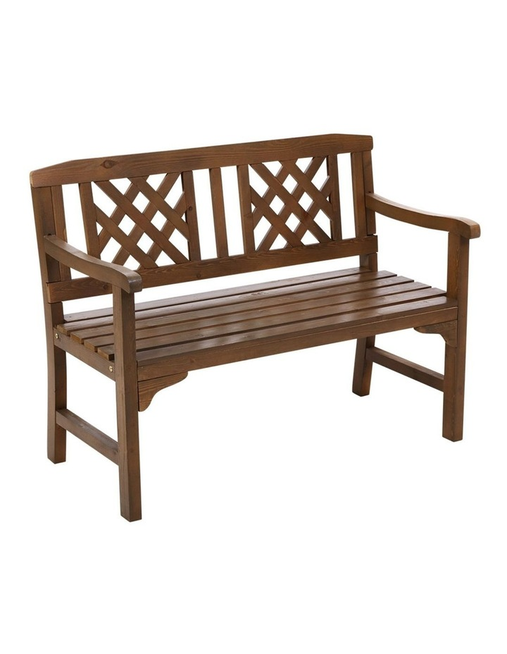 Gardeon Wooden Garden Bench Seat Patio Furniture Timber Outdoor Lounge Chair image 1