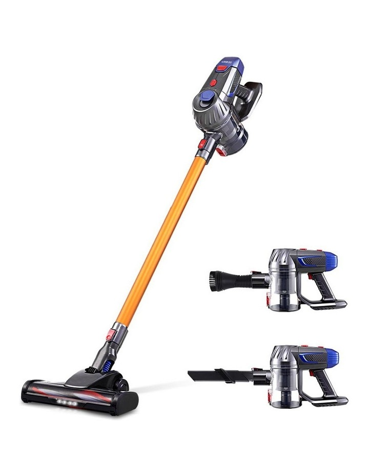 Handheld Vacuum Cleaner Cordless Stick Handstick Car Vac Bagless 2-Speed LED Headlight image 1
