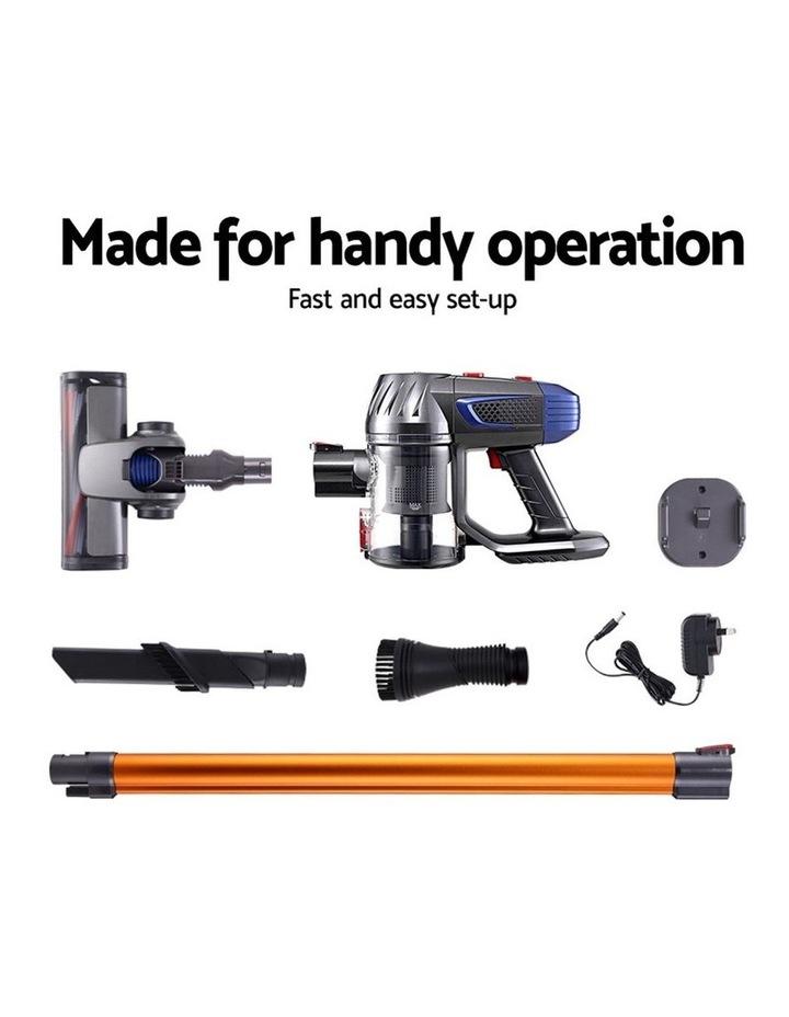 Handheld Vacuum Cleaner Cordless Stick Handstick Car Vac Bagless 2-Speed LED Headlight image 6