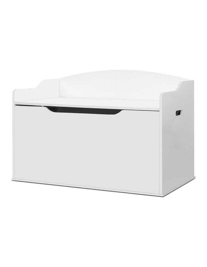 Keezi Kids Toy Box Storage Cabinet Chest Blanket Children Clothes Organiser image 1