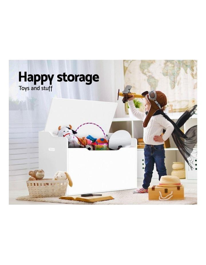 Keezi Kids Toy Box Storage Cabinet Chest Blanket Children Clothes Organiser image 3