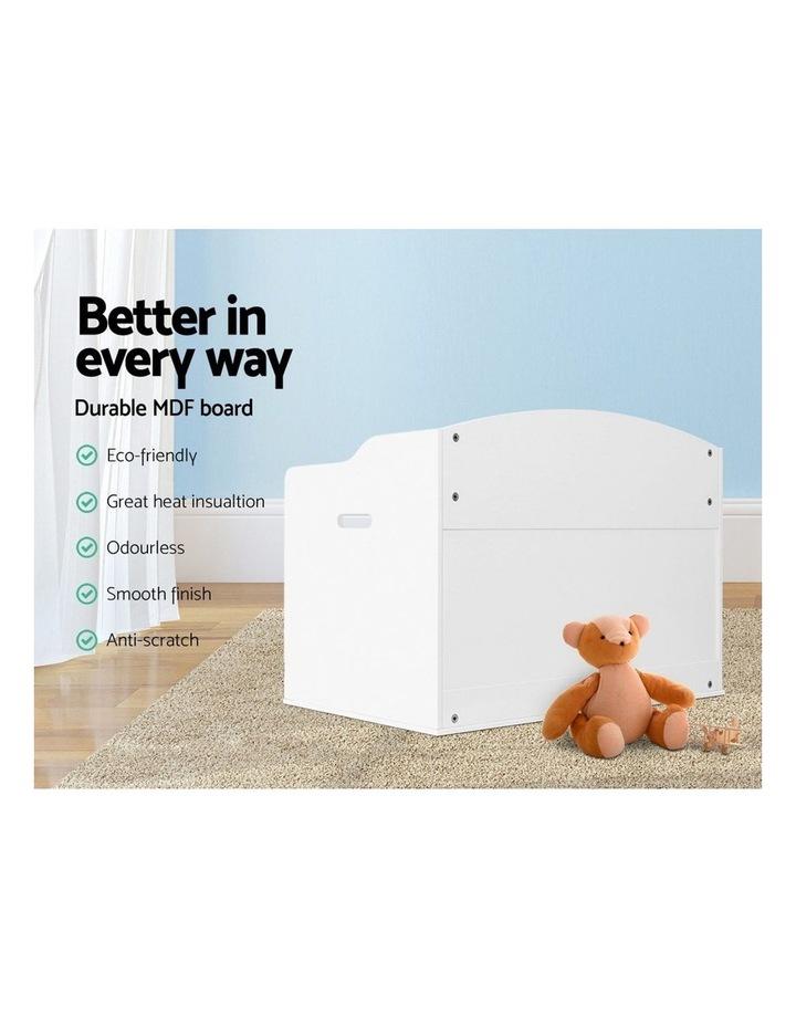 Keezi Kids Toy Box Storage Cabinet Chest Blanket Children Clothes Organiser image 4