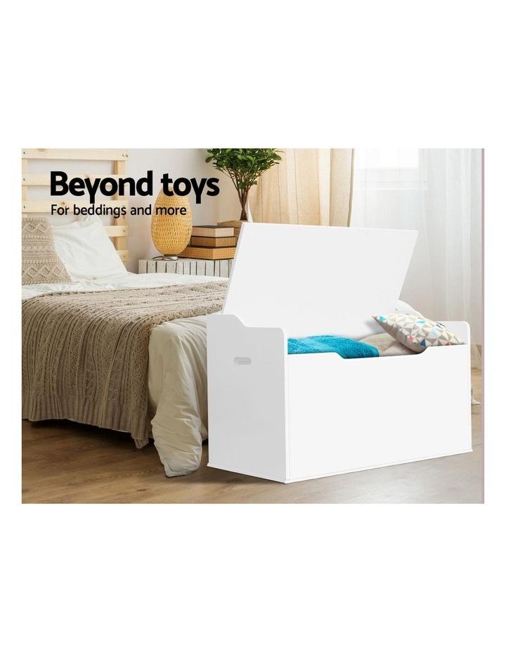 Keezi Kids Toy Box Storage Cabinet Chest Blanket Children Clothes Organiser image 5