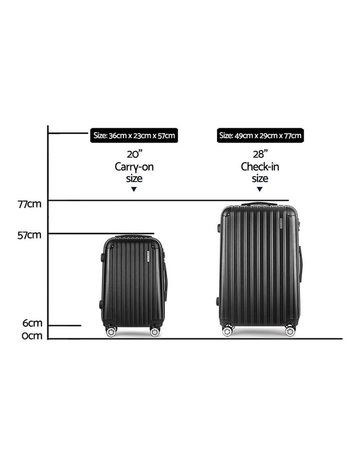 Wanderlite 2PCS Carry On Luggage Sets image 2