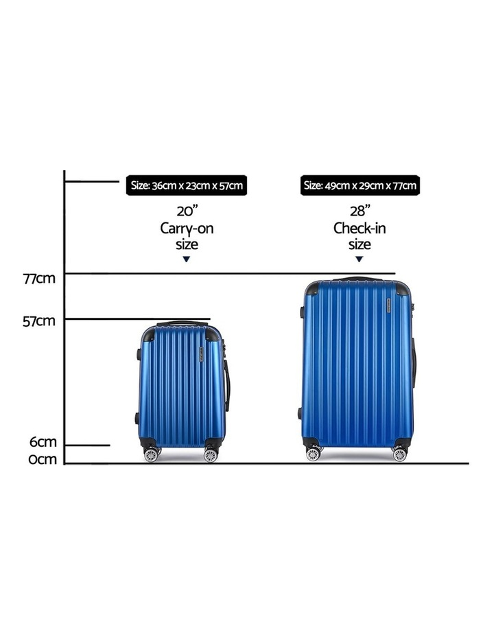 Wanderlite 2PCS Carry On Luggage Sets image 2