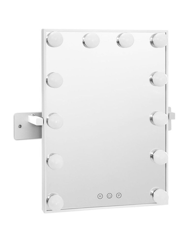 Hollywood Wall mirror Makeup Mirror With Light Vanity 12 LED Bulbs image 1