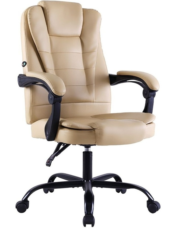 Massage Office Chair Gaming Chair Recliner Computer Chairs Khaki image 1
