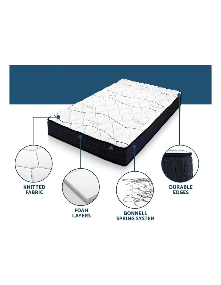 King Single Size Mattress Bed Medium Firm Foam Bonnell Spring 16cm image 4