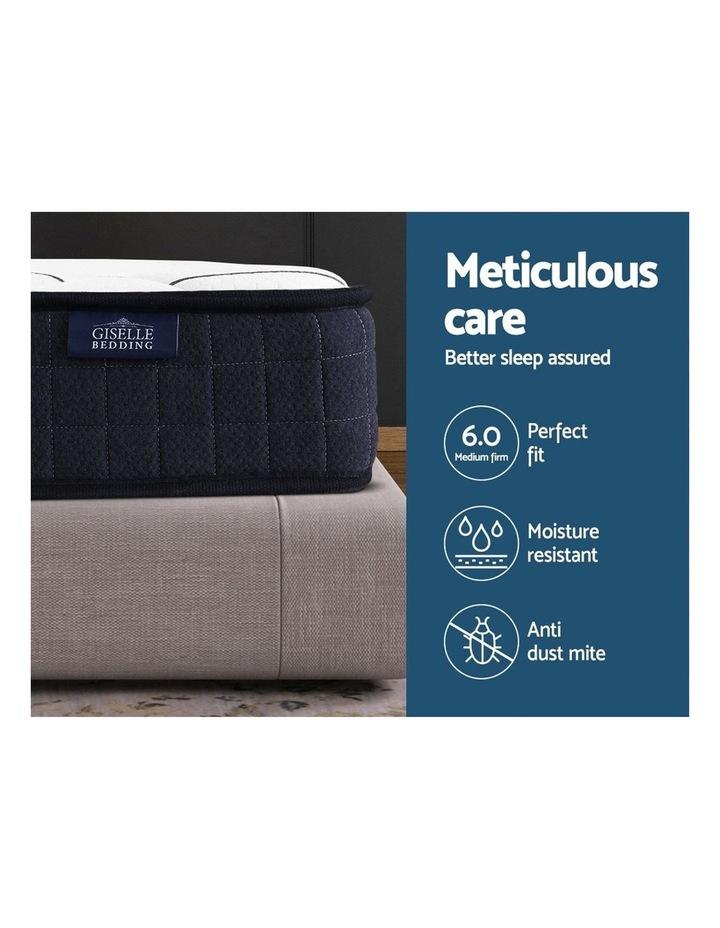 Single Size Mattress Bed Medium Firm Foam Bonnell Spring 16cm image 3