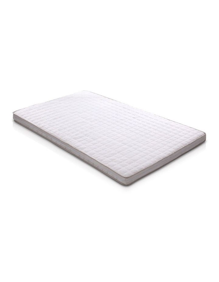 Memory Foam Mattress Topper Bed Underlay Cover King Single 7cm image 1