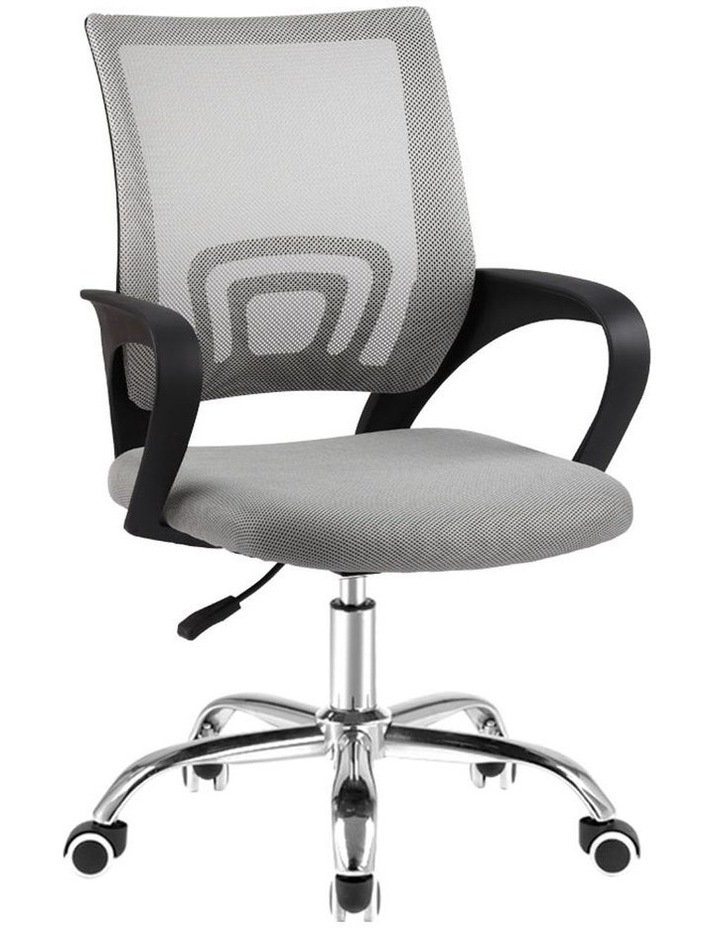 Office Chair Gaming Chair Computer Mesh Chairs Executive Mid Back Grey image 1