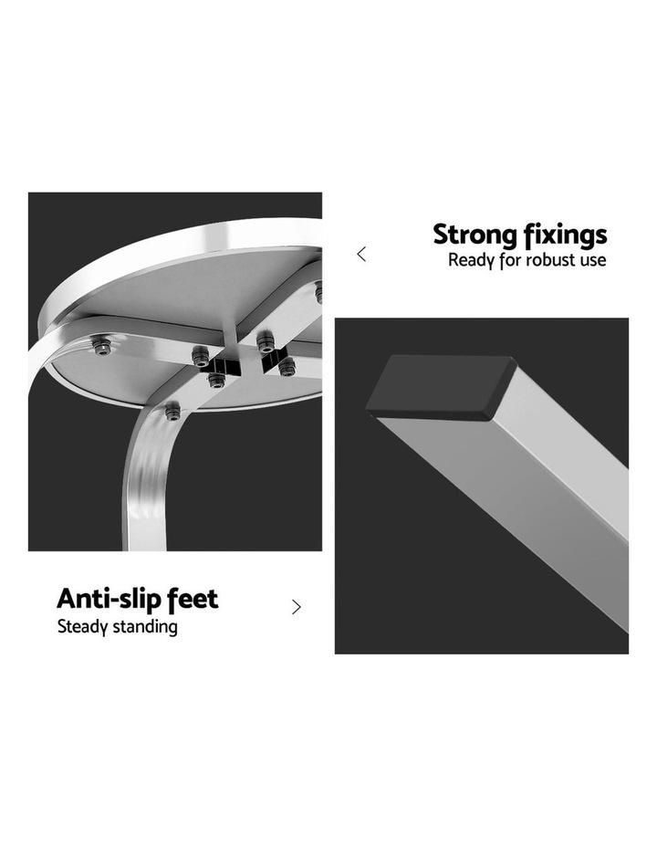 Outdoor Bar Stools Patio Furniture Indoor Bistro Kitchen Aluminum x2 image 5