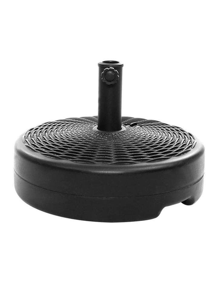 Outdoor Pole Umbrella Stand Base Pod Sand/Water Patio Cantilever Offset image 1