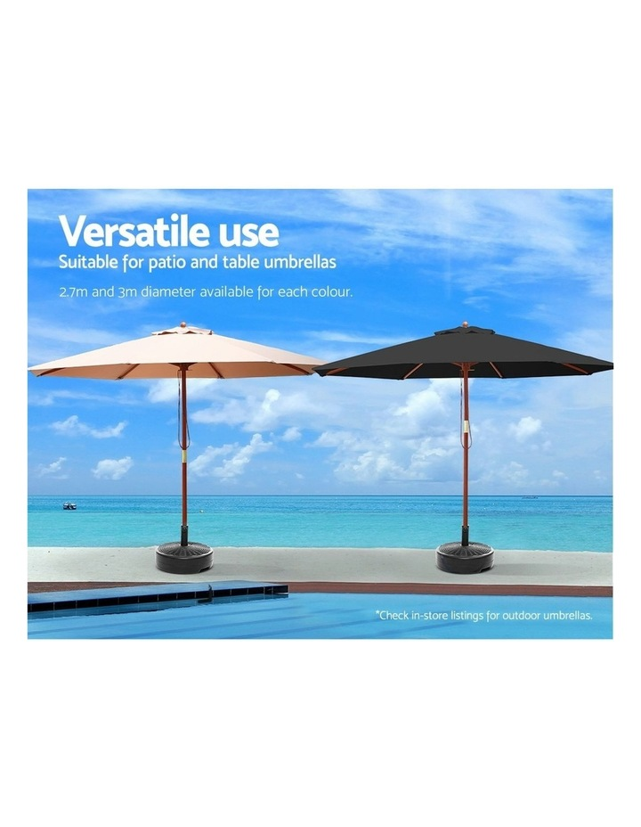 Outdoor Pole Umbrella Stand Base Pod Sand/Water Patio Cantilever Offset image 6