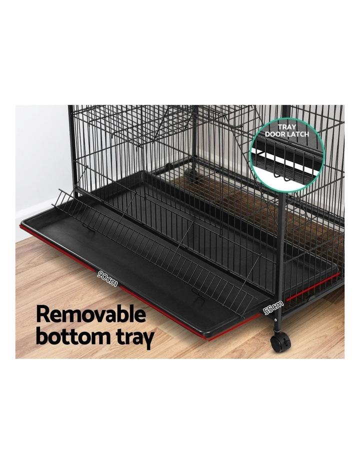 4 Level Rabbit Cage Bird Ferret Parrot Aviary Cat Hamster Castor 142cm image 6
