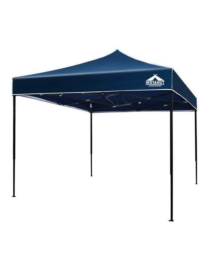 Instahut Gazebo 3x3m Pop Up Marquee Replacement Roof Outdoor Wedding Tent Navy image 1