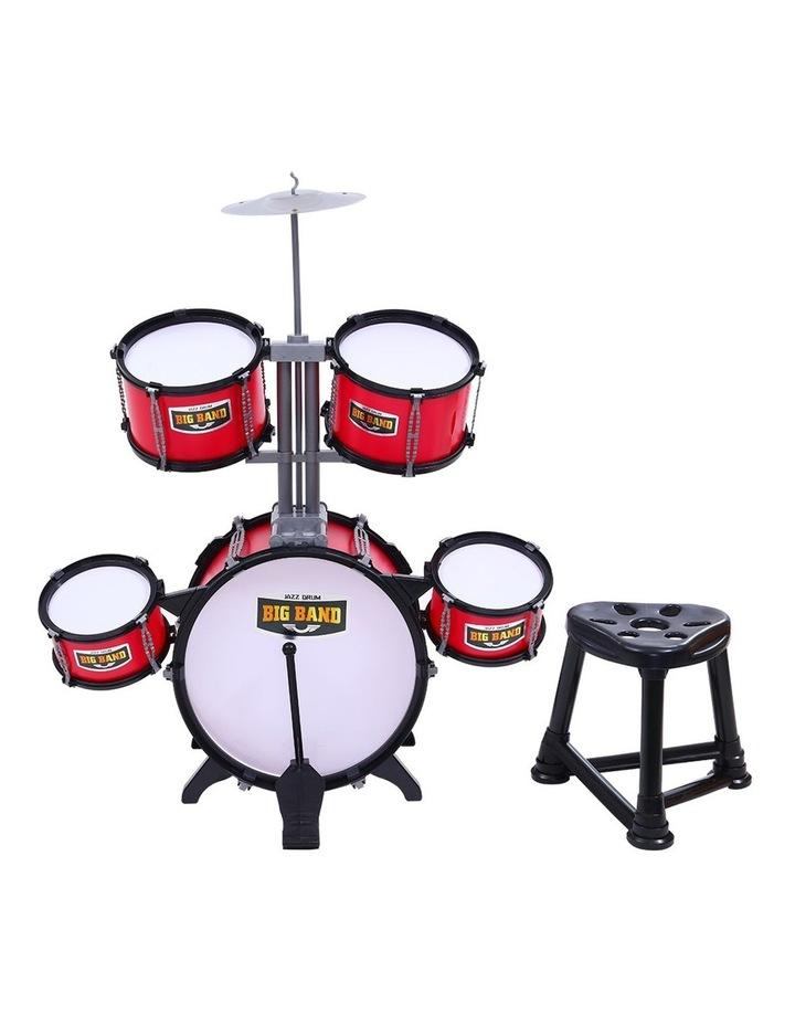 Keezi Kids 7 Drum Set Junior Drums Kit Musical Play Toys Childrens Mini Big Band image 3
