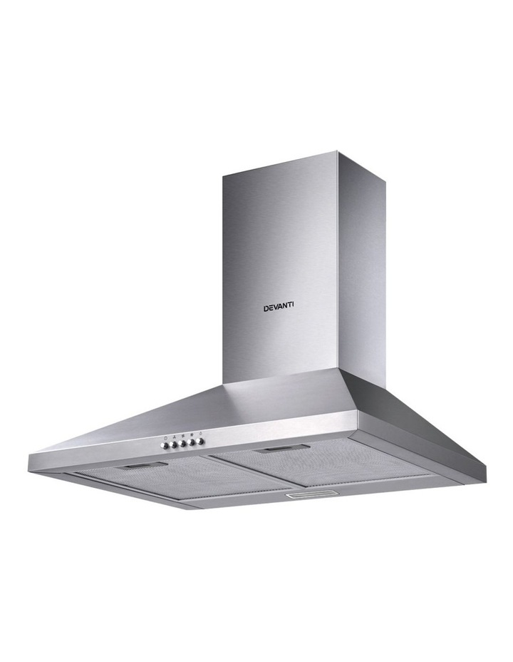 Range Hood 60cm 600mm Kitchen Canopy Stainless Steel Rangehood Wall Mount image 1