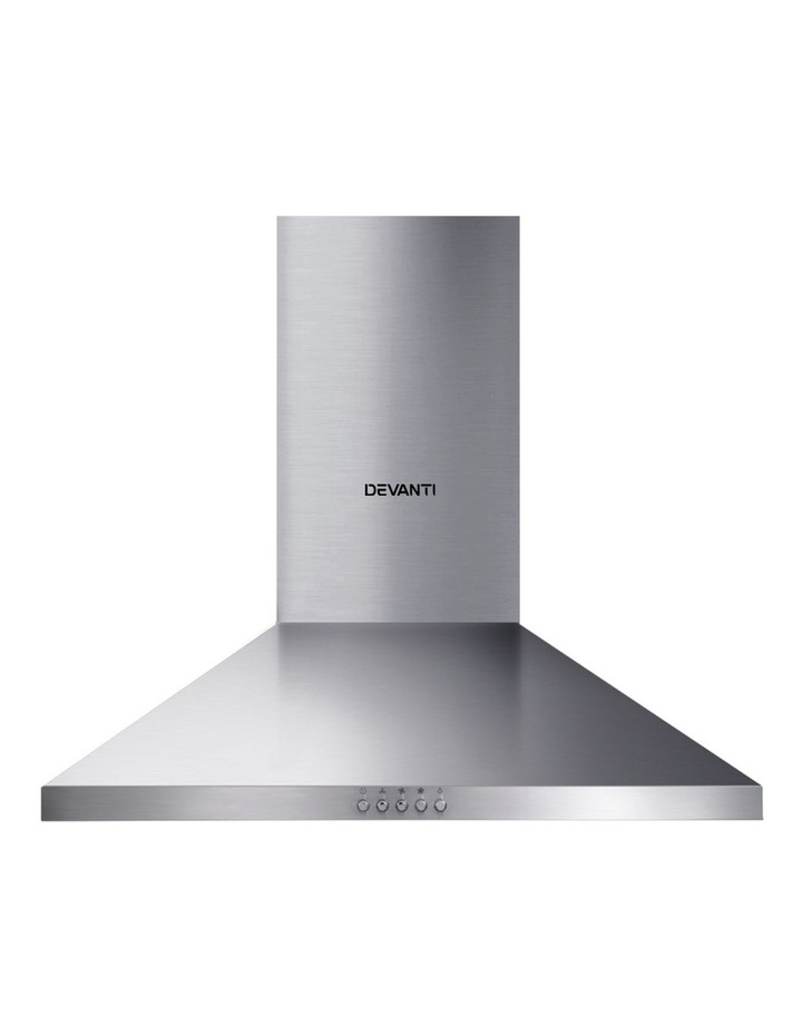 Range Hood 60cm 600mm Kitchen Canopy Stainless Steel Rangehood Wall Mount image 3