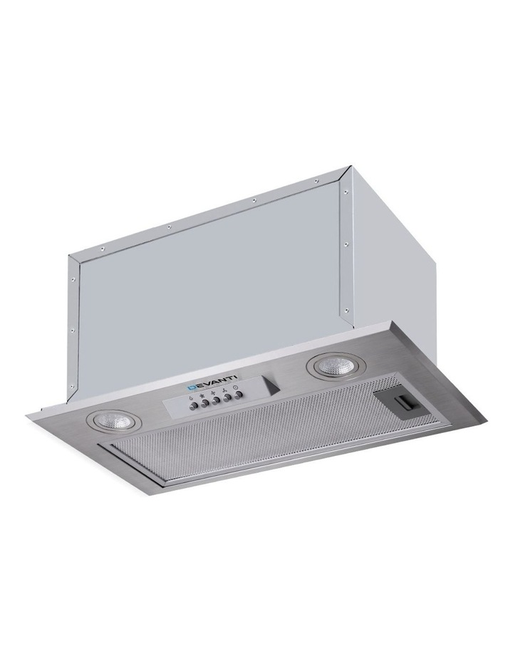 Range Hood Rangehood Undermount Built In Stainless Steel Canopy 52cm image 1