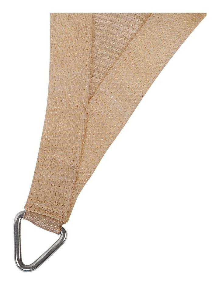 Shade Sail Cloth Shadecloth Rectangle Heavy Duty Sand Sun Canopy 3x4m image 3