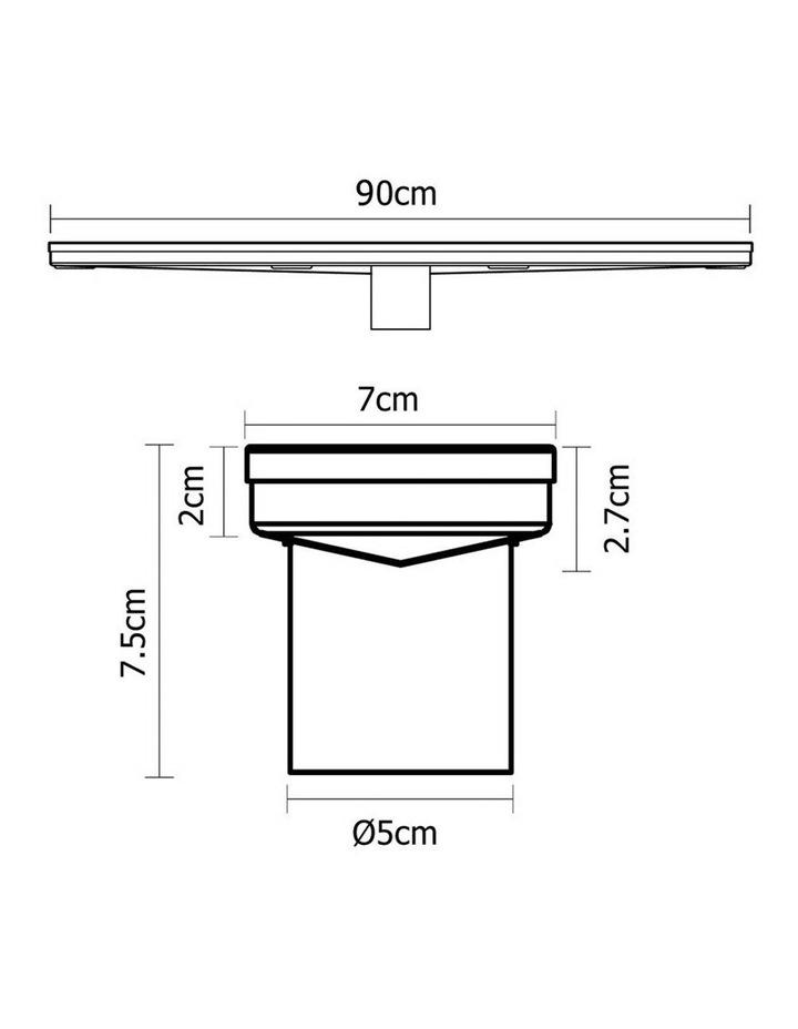 900mm Stainless Steel Shower Grate Bathroom image 2