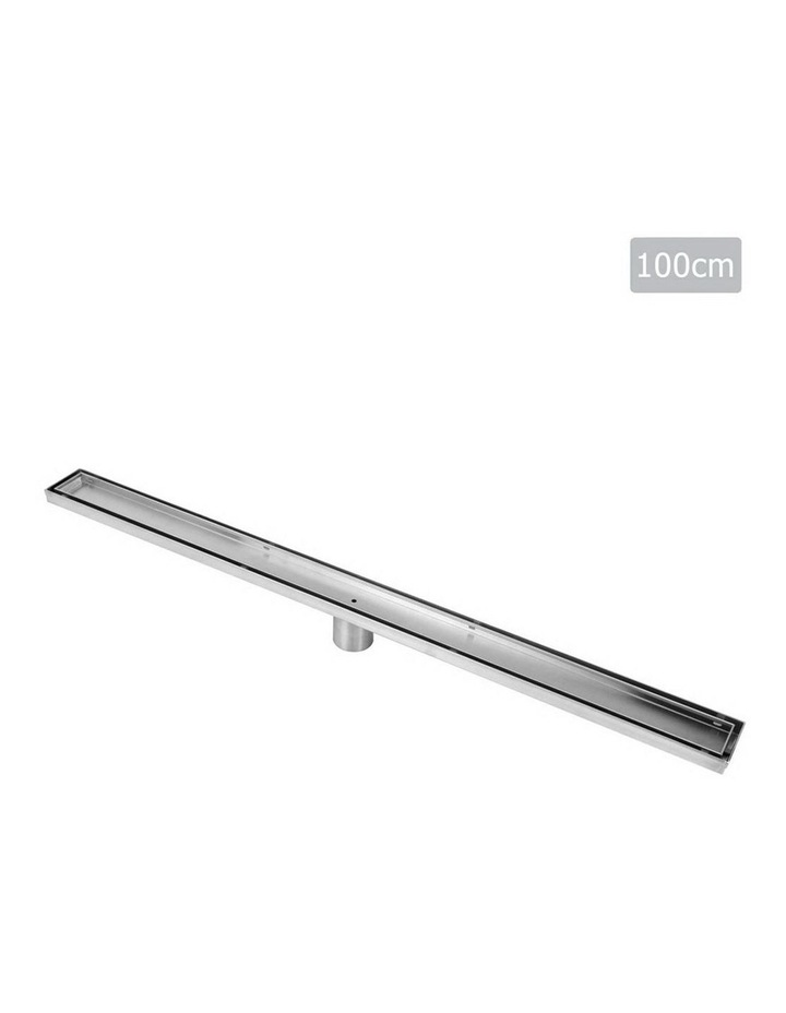 1000mm Stainless Steel Insert Shower Grate image 1