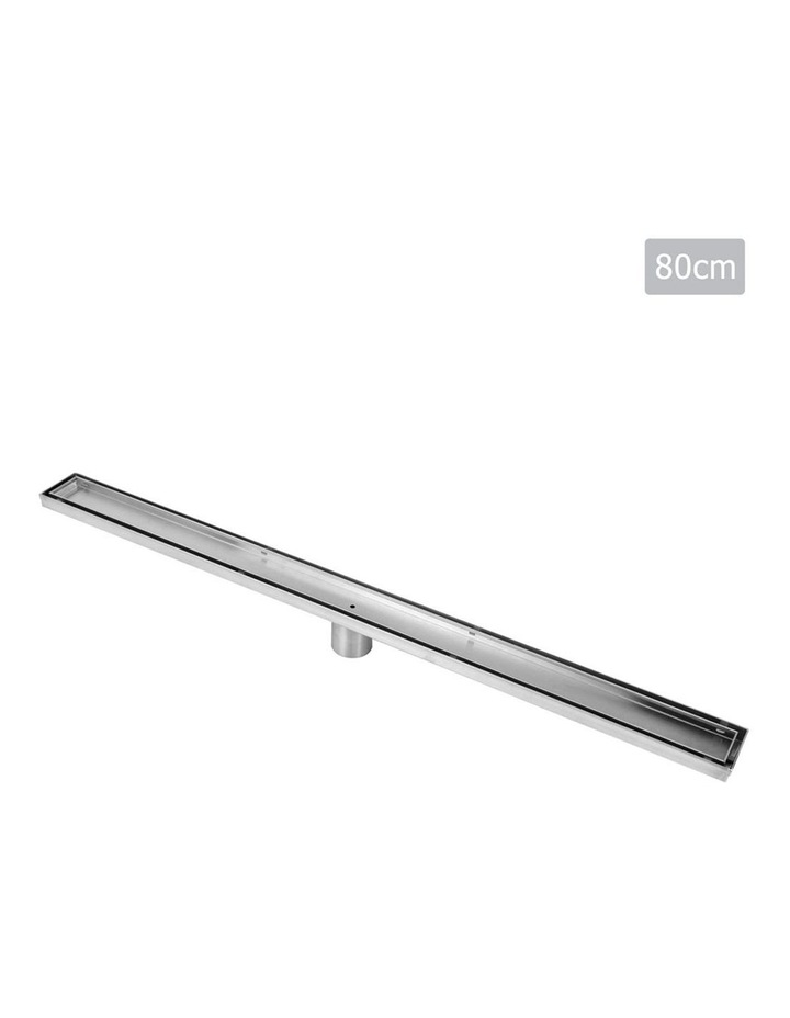 800mm Stainless Steel Insert Shower Grate image 1