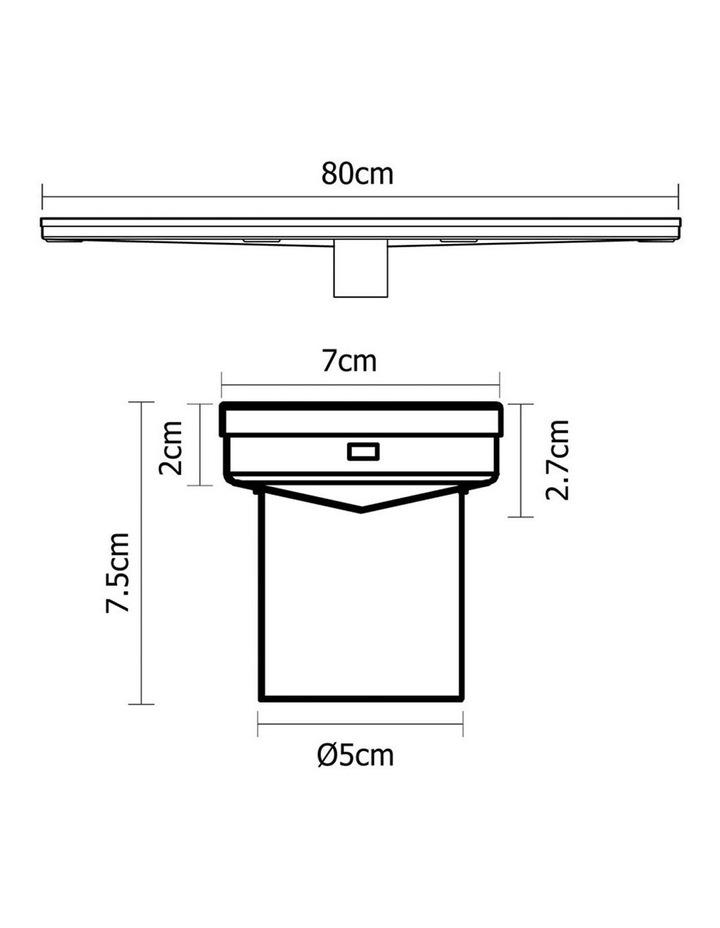 800mm Stainless Steel Insert Shower Grate image 2