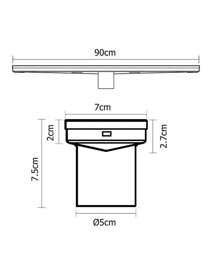 900mm Stainless Steel Insert Shower Grate image 2