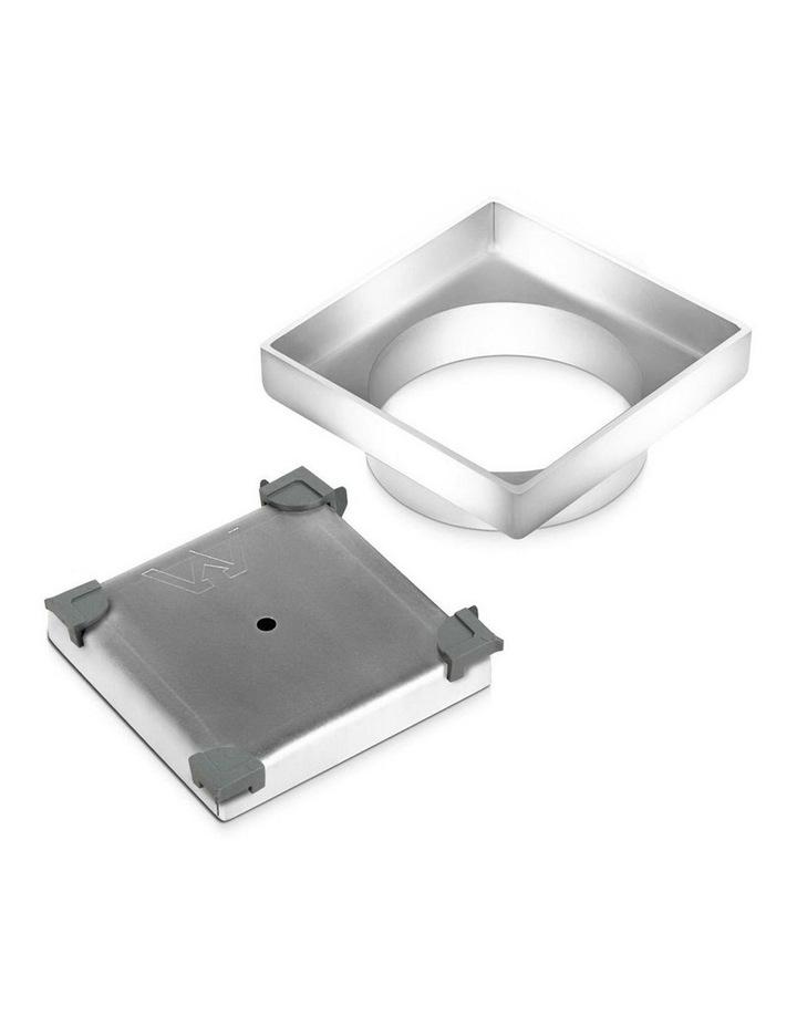 115x115mm Stainless Steel Shower Grate Tile Insert Drain Square Bathroom image 4
